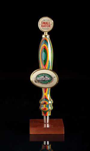 Wood Beer Tap with Gold Finial Green Mountain Taps
