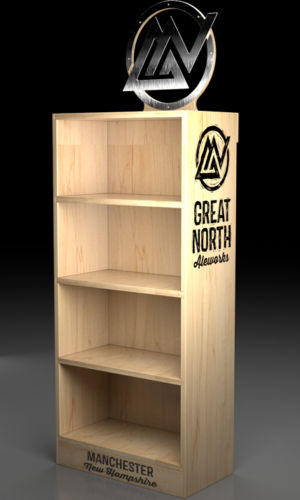 Display Rack - Great North