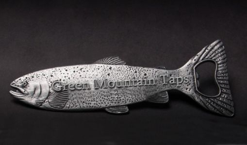 Green Mountain Taps Fish bottle Opener