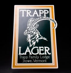 Trapp Family Lodge Lager Sign